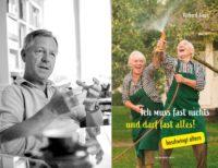 """Großes Beitragsfoto:Richard Kaan präsentierte sein neues Buch """"Ich muss fast nichts und darf fast alles!"""" (Foto Joel Kernasenko)"""