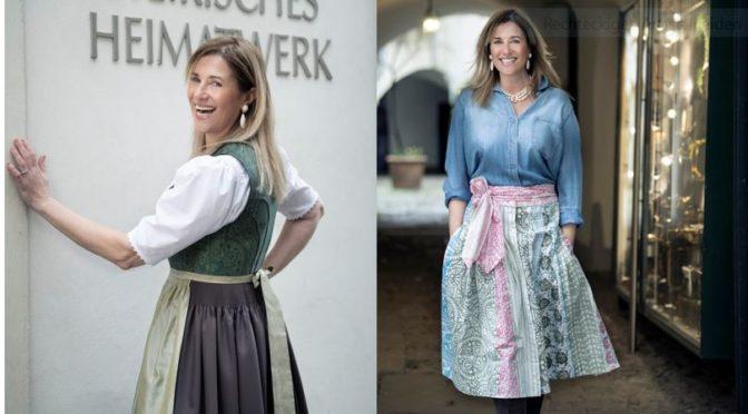 Designerin Theresa Schöffel kooperiert mit dem Steirischen Heimatwerk