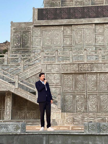 """Unsere Besucher wissen, dass wir bei der Oper im Steinbruch einen gewissen Qualitätsanspruch haben"""", so Daniel Serafin. (Foto instagram.com/serafindaniel/)"""