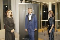 Schmuckstars Gala 2021: Ines Kasparek, Alfons Haider und Katharina Zagata. (Foto Stefan Diesner)
