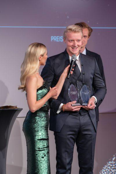 Schmuckstars Awards 2021: Rookie of the Year (Publikumsstar und Gesamtsieger ist Paul Schuetzlhoffer, Juwelier Schuetzlhoffer. (Foto Andreas Tischler)