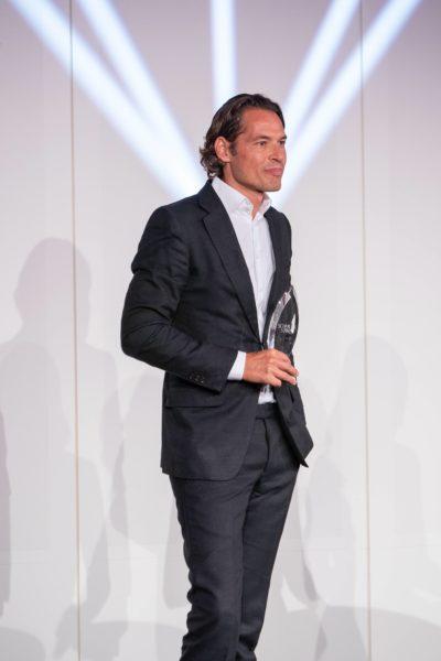 Schmuckstars Awards 2021: Shopdesign des Jahres (Publikumsstar u Gesamtsieger) ist Heinz Winterer, Timelounge. (Foto Andreas Tischler)