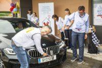 Car Wash Day 2021 mit Stadtrat Kurt Hohensinner und McDonalds Graz-Franchisenehmer Daniel Boaje. (Foto Fischer)