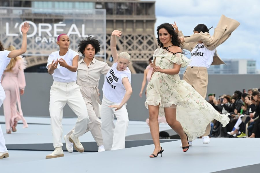 """Le Defile L'Oreal Paris 2021"": Camila Cabello. (Photo by Pascal Le Segretain/Getty Images For L'Oreal)"