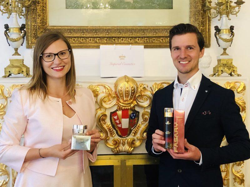Imperial Cosmetics wurde 2019 von Jörg Öfferl und Marina Sophie Flasch gegründet. (Foto Imperial Cosmetics)