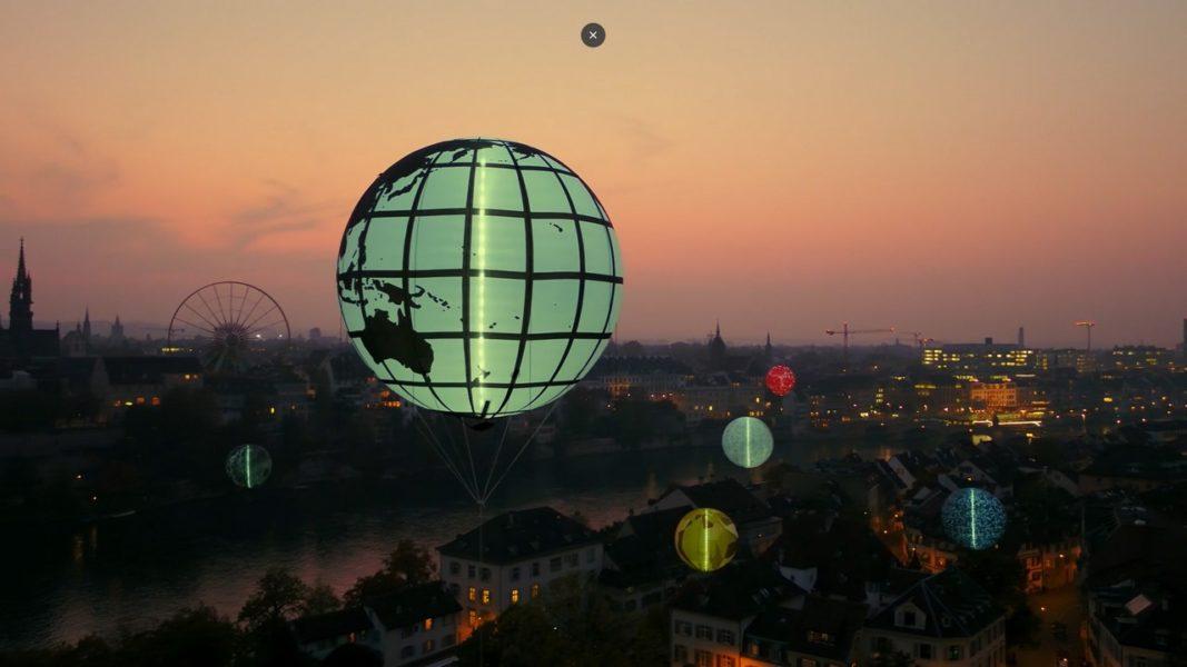 Jardin des Planètes, eine Kunstintervention von Klaus Littmann. (Foto aviaticfilmsGmbH)